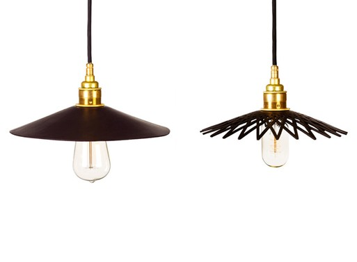 Hide Pendant Lights