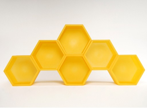 Honeycomb Flexible Shelves Furnishings Better Living