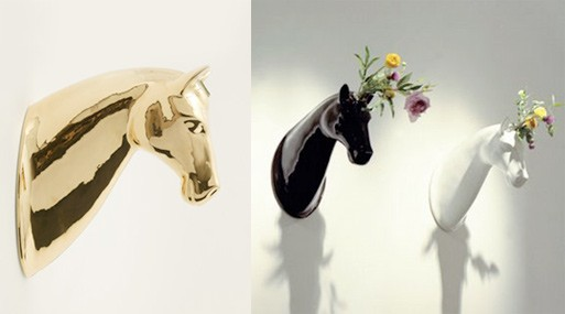Horse Vase Accessories Better Living Through Design