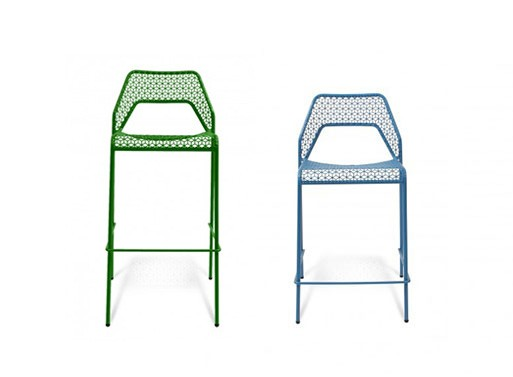Hot Mesh Counter and Barstool