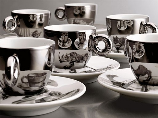 Illy Espresso Cups by William Kentridge
