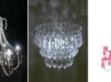 LED mini-chandeliers by Chris Collicott