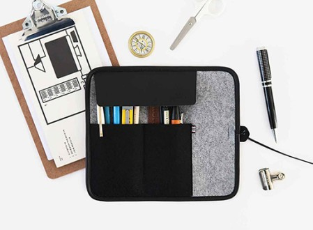 Indigo Basic Roll Pencil Case