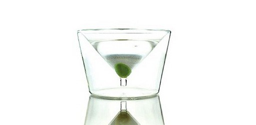 InsideOut Martini Glass, Set of 2