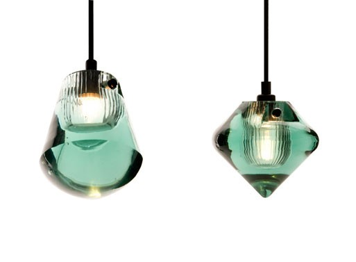 Jack Pressed Glass Pendants