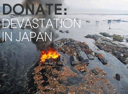 Donate: Devastation in Japan