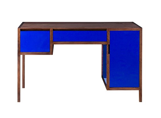 Cobalt Blue Lacquer Desk