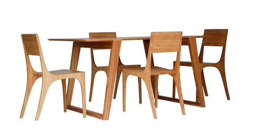 Isometric Table and Chairs