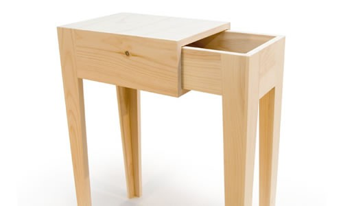 Simple bedside table design decoration Simple bedside table designs