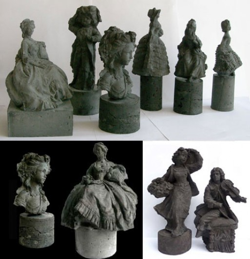 Kathy Dalwood Concrete Figurines