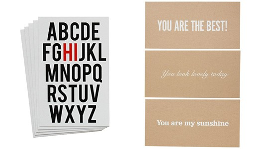 'Hi' and 'You' Series Cards