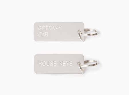 Keytags in Sterling Silver