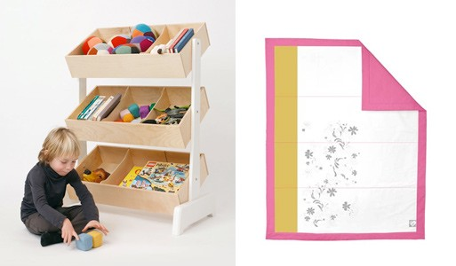 Toy Store Storage System and Crazy Daisy Quilt