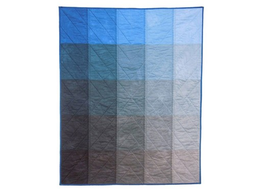 Paint Chip Quilt in Blue
