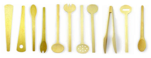 Scanwood's 11 Beechwood Kitchen Tools