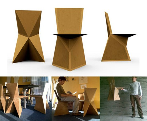 Kraftwerk DIY Cardboard Chair