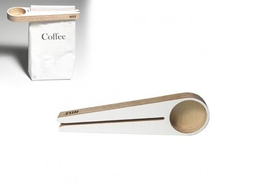 Kupu Coffee Scoop and Bag Closer