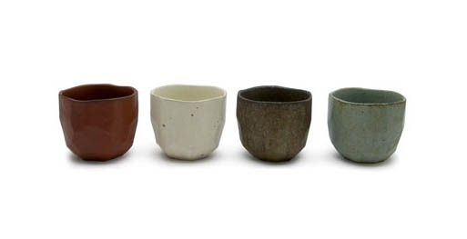 Faceted Tea Bowls