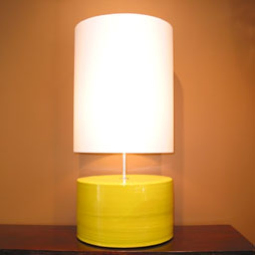 Table Lamp – Yellow