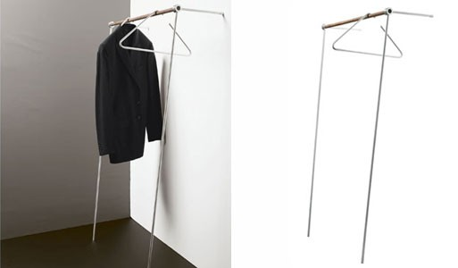 Lean-on Coat Rack