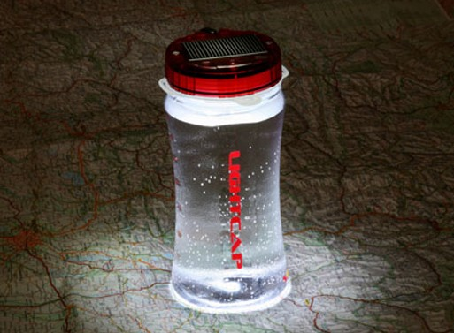 LightCap: Solar Powered Lantern & Water Bottle