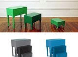 Nesting Tables/Step Stools by Paul Loebach