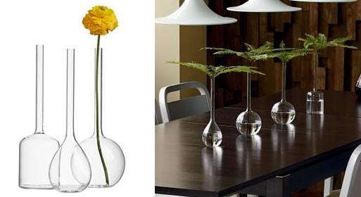 Longneck vases