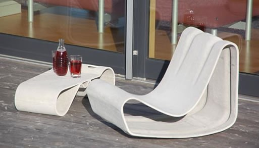 Loop Chair by Willy Guhl