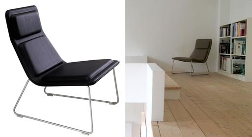 Low Pad Chair by Jasper Morrison