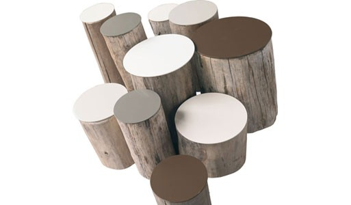 Set of 10 Low Trunk Tables