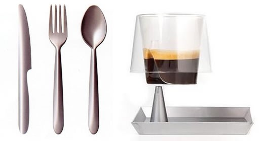 lux dinnerware by philippe starck