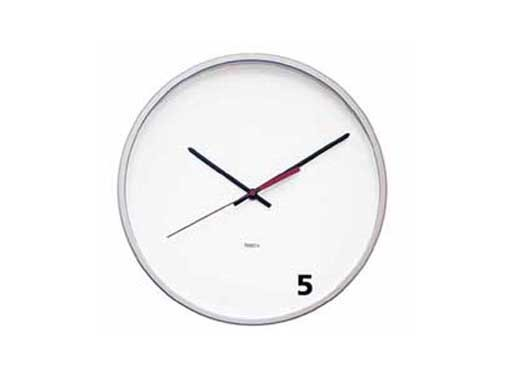 M&Co Wall Clock, Five O'Clock