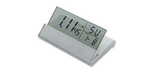 Travel Alarm Clock by MUJI