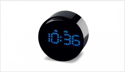 Round Led Clock Accessories Better Living Through Design
