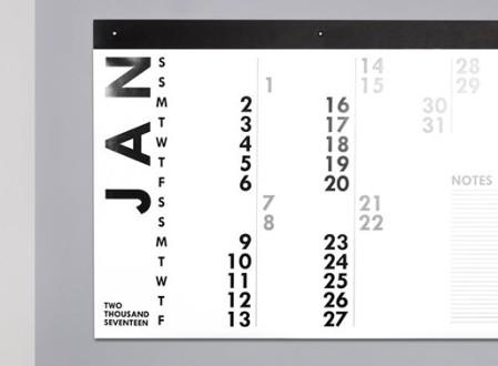 XL 2018 Wall Calendar