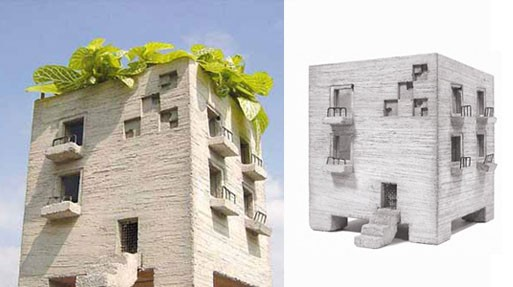 Mansion Planter by Pull+Push