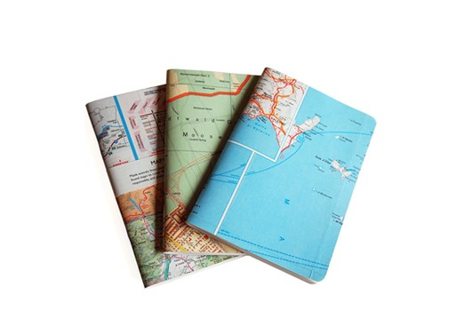 Book Cover Craft Map : Mapbook — accessories better living through design