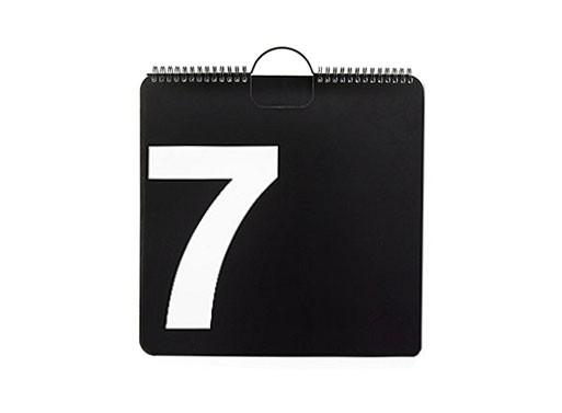 Perpetual Wall Calendar by Massimo Vignelli