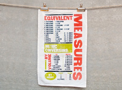 Measure Tea Towel