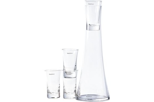 snaps carafe w/glasses