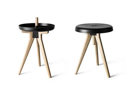 Flip Around Stool/Table
