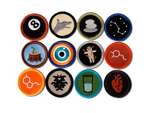 Merit Badges from Disorderly Goods