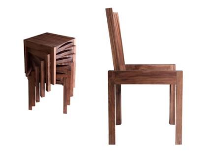Metamorphic Chair-Stool-Side table