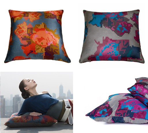 Mixelated Pillows