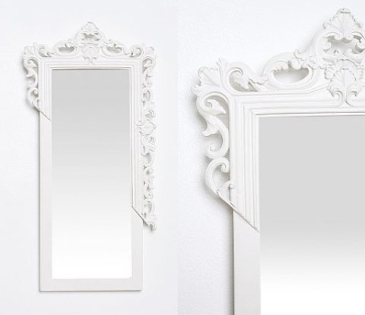 Modern Baroque Mirror