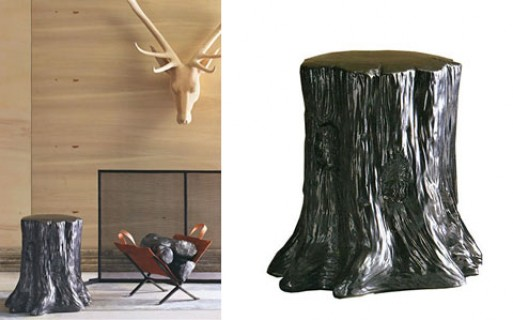 Modern Tree Trunk Stool