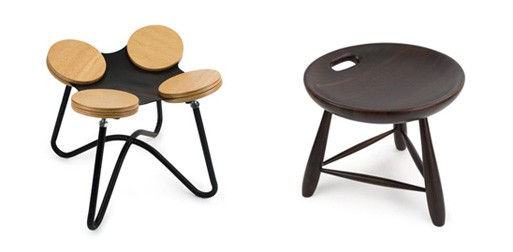 Bate-Papo and Mocho Stool