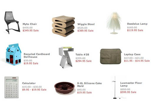 MoMA Design Store: Summer Sale