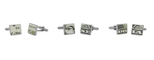 Money Cufflinks