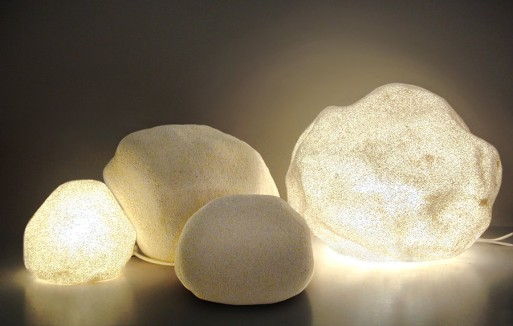 Moon Rock Lamps